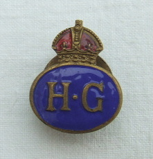 British WW2 Home Guard Badge. ref.no.ML24